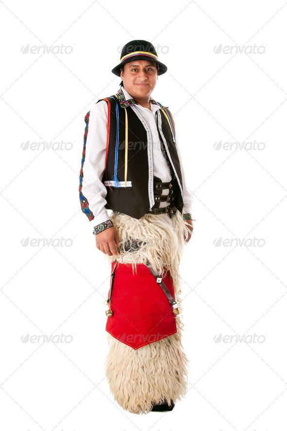 Happy indiginous Latino man - Stock Photo - Images