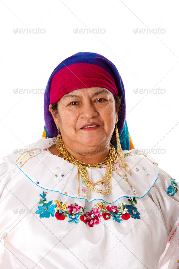 Latin Gypsy woman - Stock Photo - Images