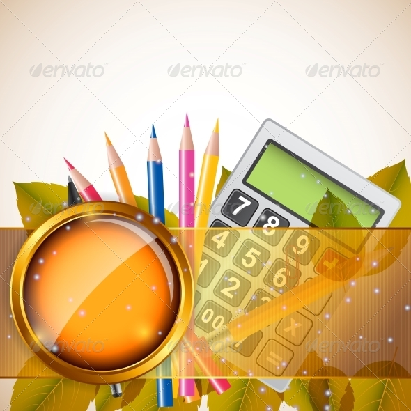 School Theme Background - Backgrounds Business