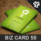 Business Card Design 50 - GraphicRiver Item for Sale