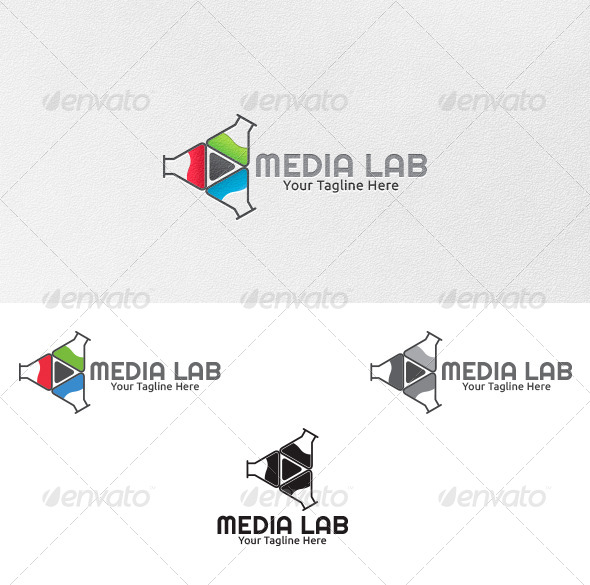 Media Lab - Logo Template - Symbols Logo Templates