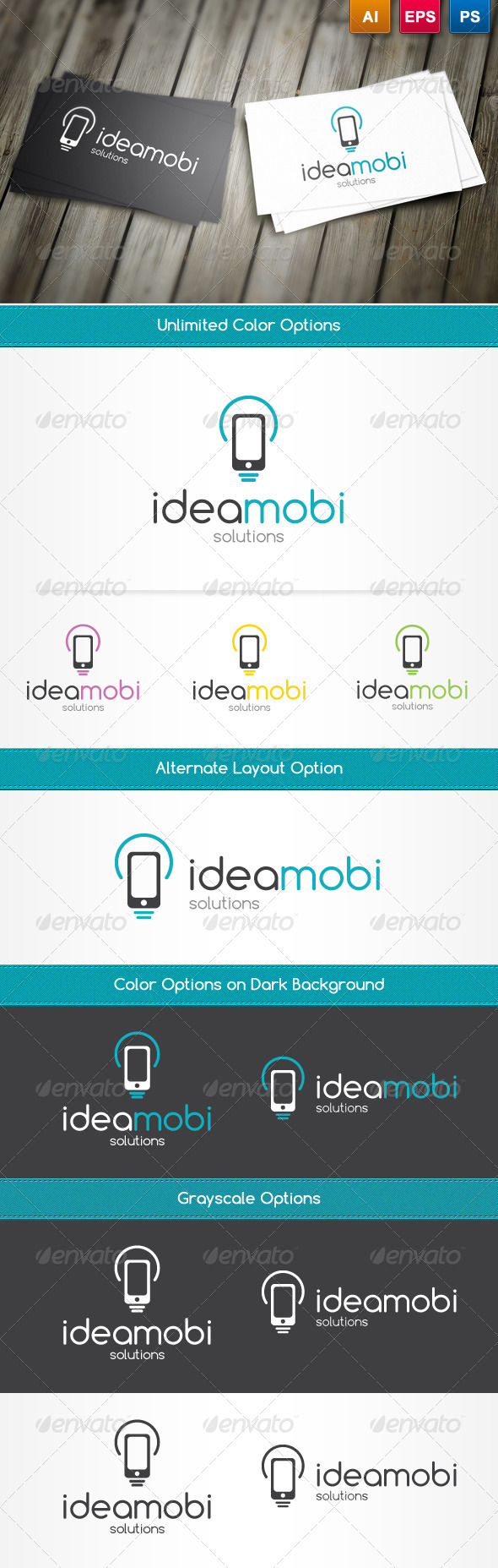 IdeaMobi Logo Template - Symbols Logo Templates