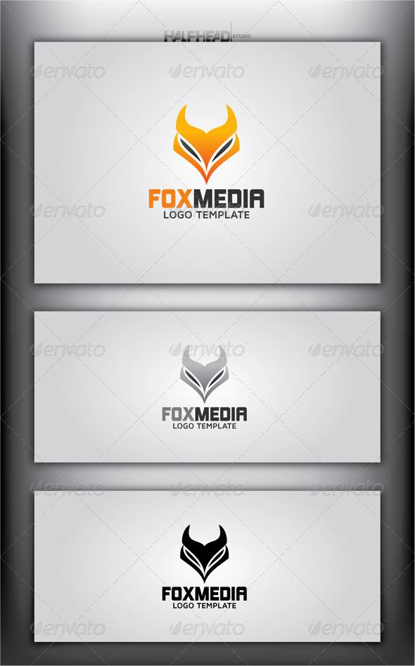 FOX MEDIA Logo Template - Animals Logo Templates