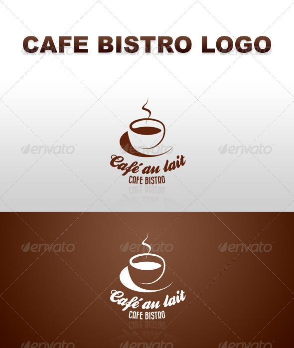 Retro Cafe Bistro Bar Logo 7 - Food Logo Templates