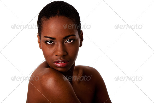 African beauty face - Stock Photo - Images