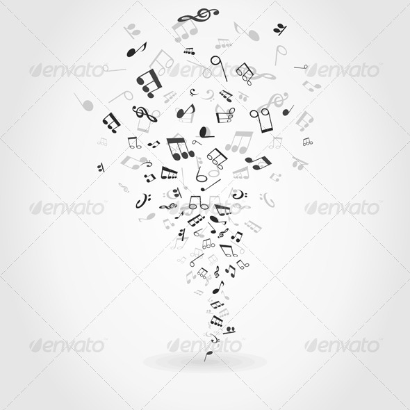 Abstract Music 3 - Miscellaneous Vectors
