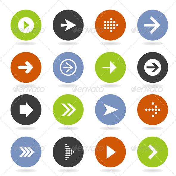 Arrow Icon 8 - Web Elements Vectors