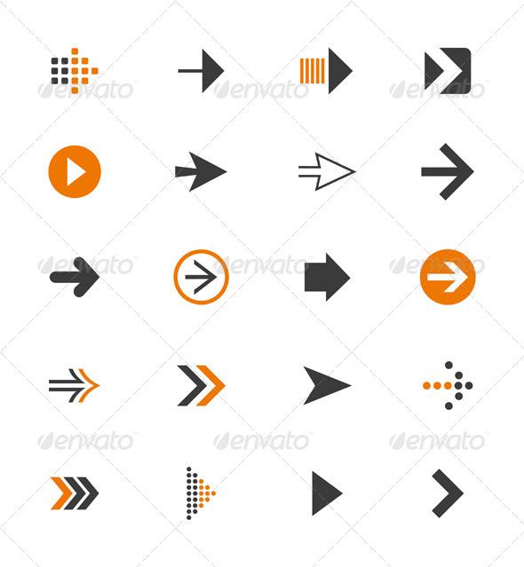 Arrow Icon 9 - Web Elements Vectors