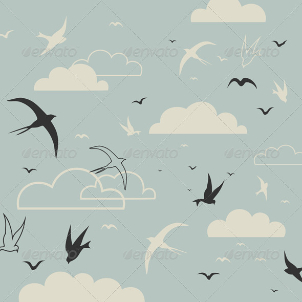 Bird in the Sky - Animals Characters