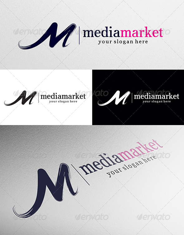 Medi Market Logo - Letters Logo Templates
