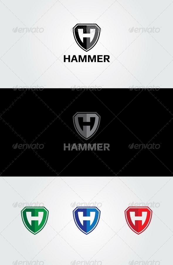 Hammer Logo - Letters Logo Templates