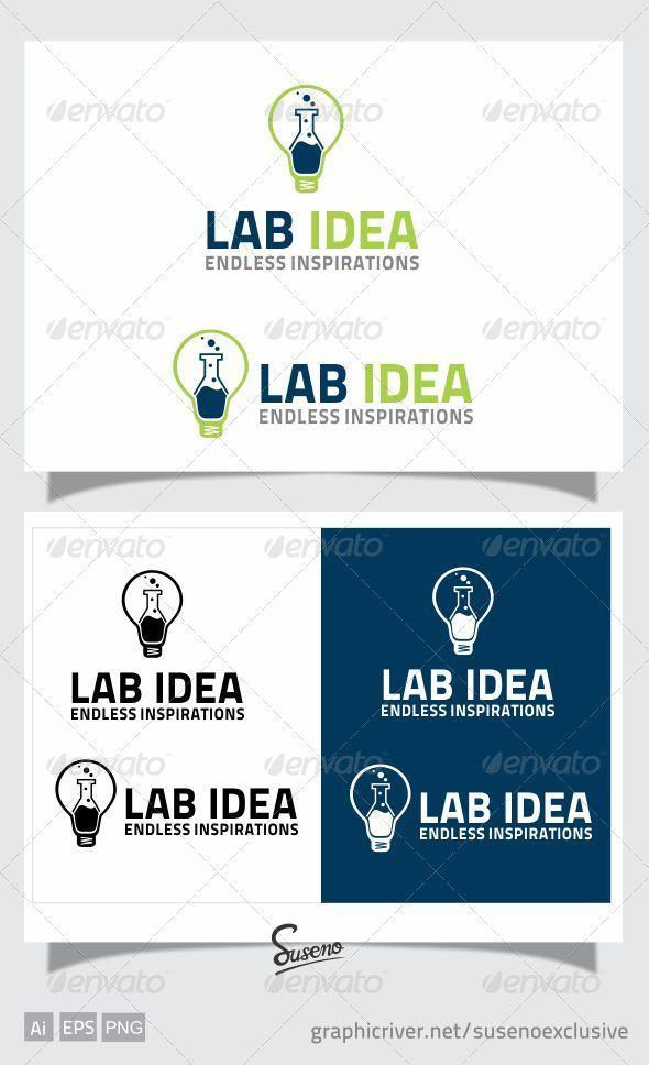 LAB IDEA LOGO - Objects Logo Templates