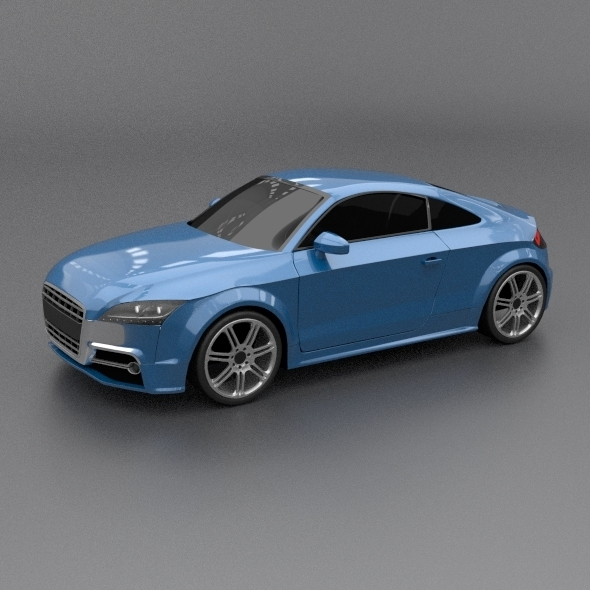 Audi tts 2011 restyled - 3DOcean Item for Sale