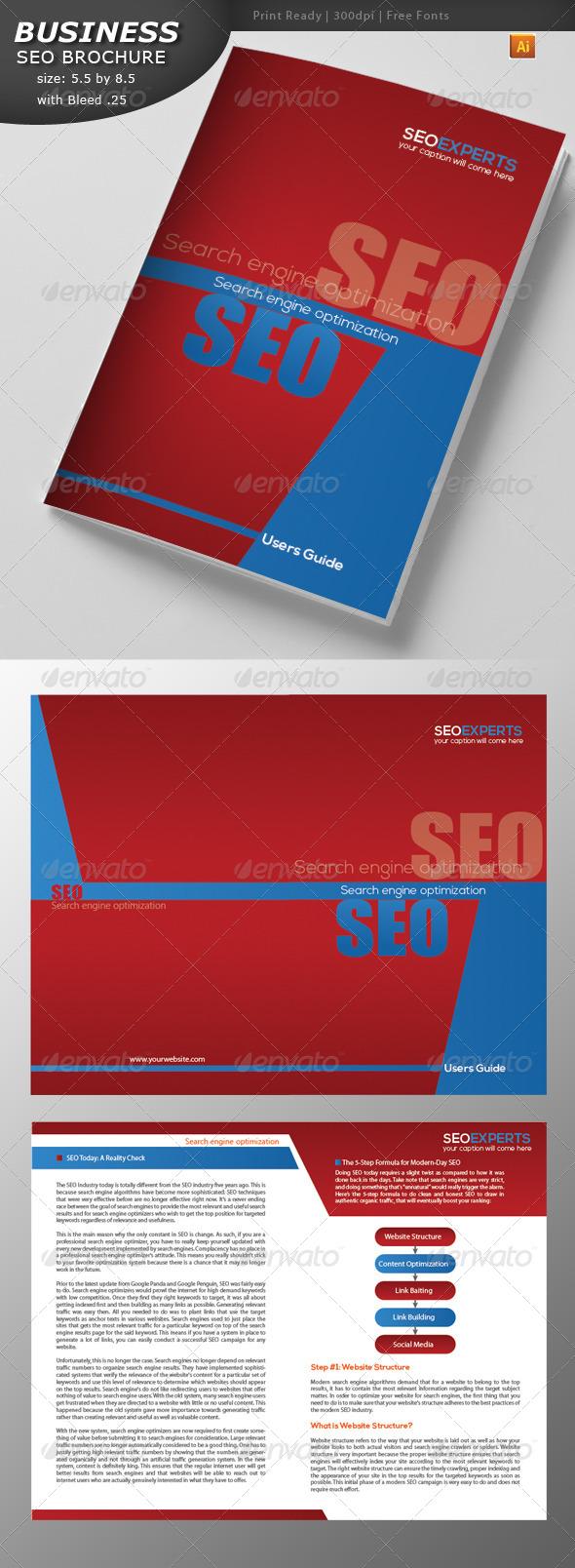 Seo Brochure Design - Corporate Brochures