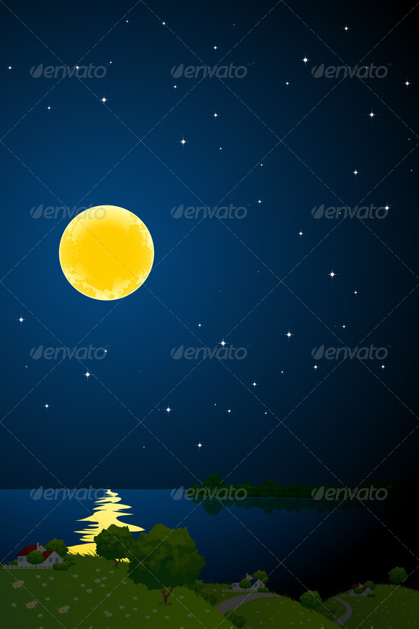 Night Landscape - Landscapes Nature