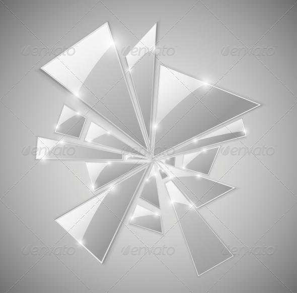 Broken Glass - Abstract Conceptual