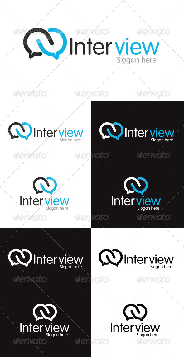 Interview Logo Template - Symbols Logo Templates