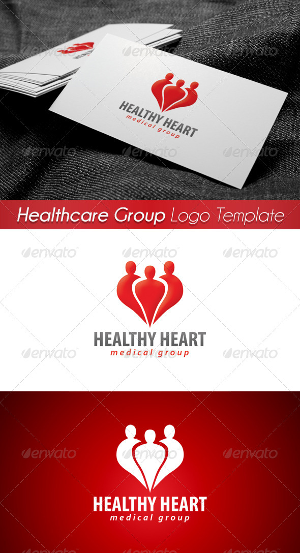 Medical Healthcare Group Logo 4 - Symbols Logo Templates