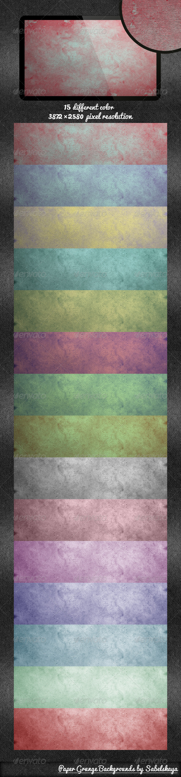Paper Grunge Background - Patterns Backgrounds