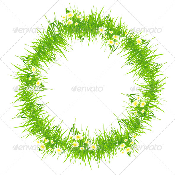 Isolated Grass Frame - Flowers & Plants Nature