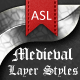 Medieval Metal Layer Styles - GraphicRiver Item for Sale