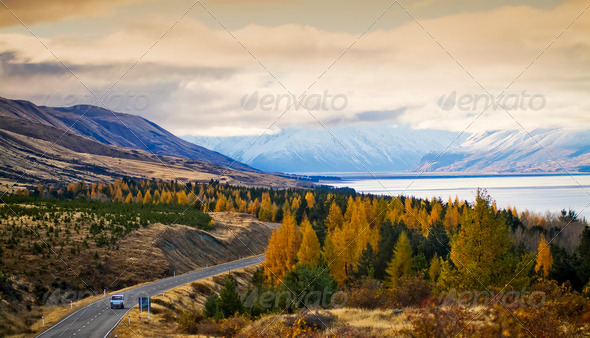 Spectacular Drive - Stock Photo - Images