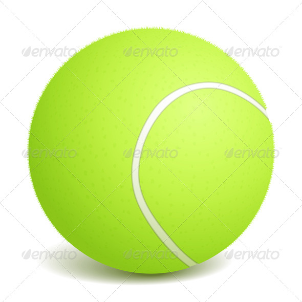 Tennis Ball - Sports/Activity Conceptual