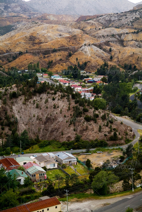 Queenstown, Tasmania - Stock Photo - Images
