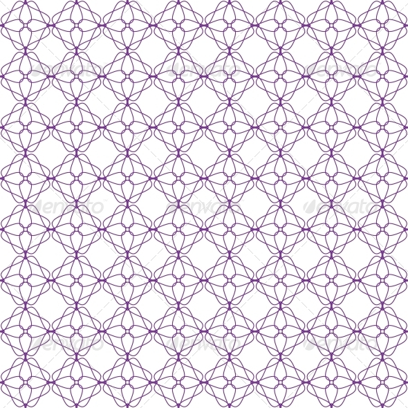 Vector Seamless Guilloche Background - Patterns Decorative