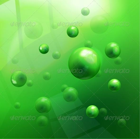 Vector Molecules Background - Miscellaneous Vectors