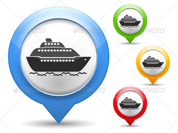 Ship Icon - Web Elements Vectors