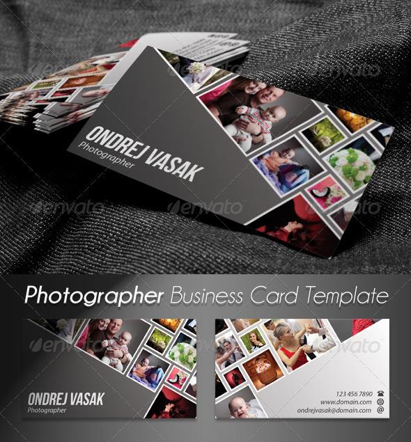 photographer artist business card 2 corporate business cards - Artist Business Cards
