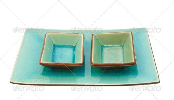 Glazed Bowls - Stock Photo - Images