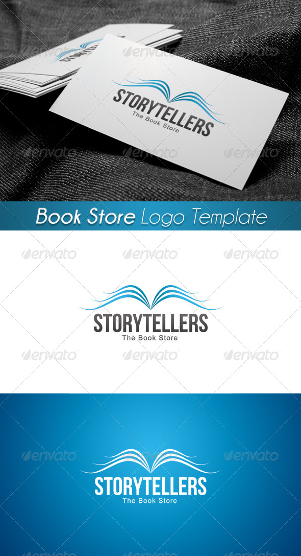 The Book Store Logo 5 - Symbols Logo Templates