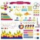 Infographics Collection: Graphs, Histograms, Arrows - GraphicRiver Item for Sale