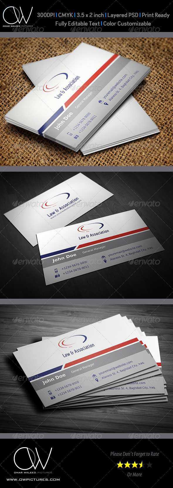 Corporate Business Card Vol.15 - Corporate Business Cards