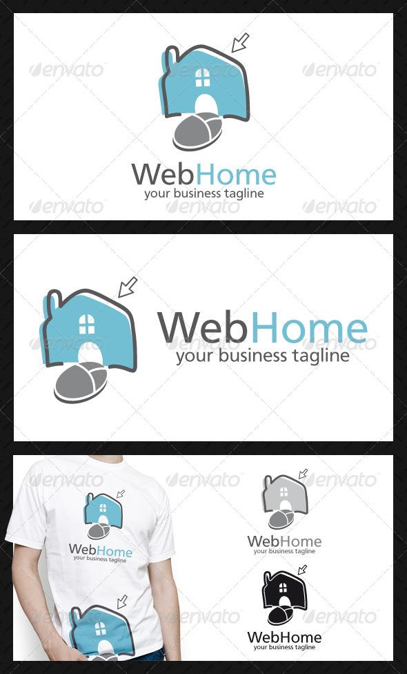 Web Home Logo Template - Buildings Logo Templates
