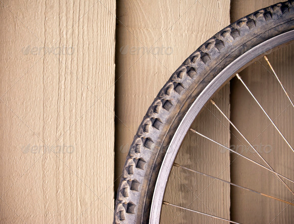 Bike Wheel - Stock Photo - Images