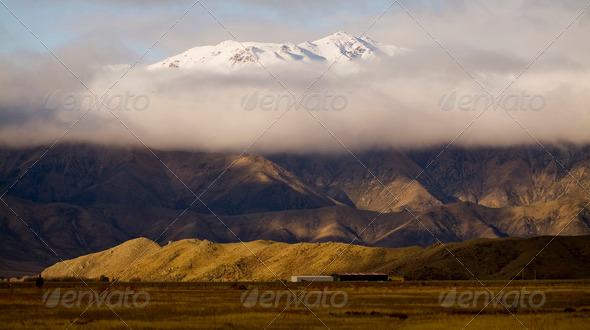 Mountain Cloud - Stock Photo - Images