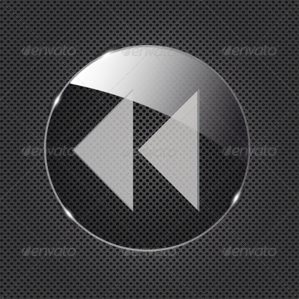 Glass Button - Web Technology