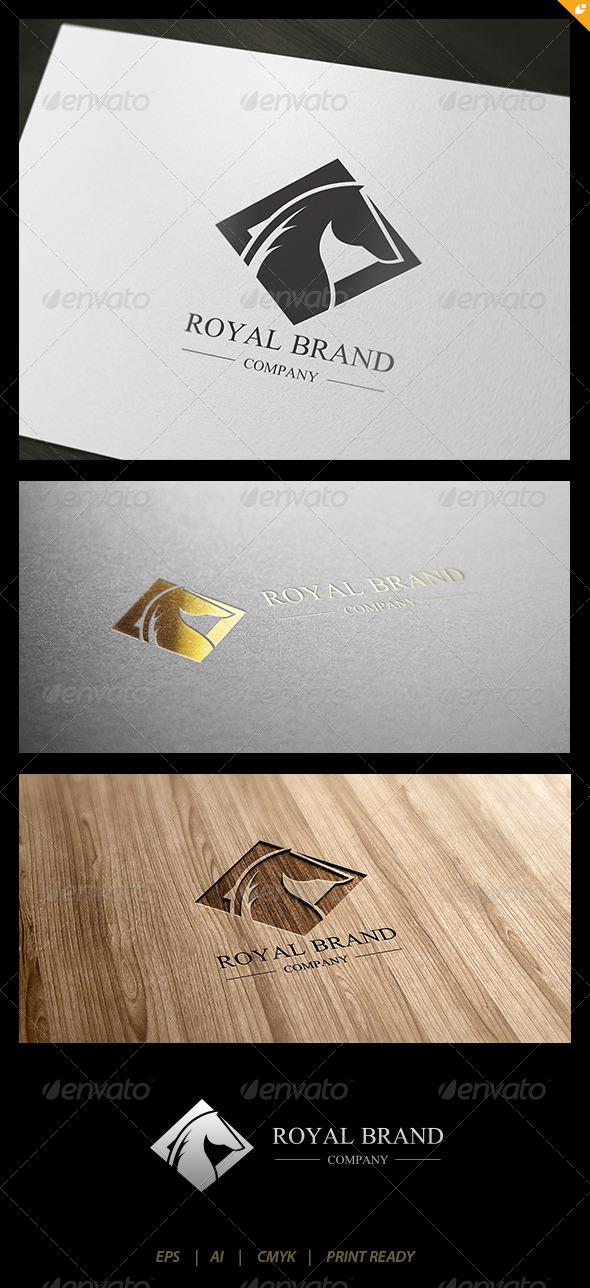 Horse Royal Brand Logo 1 - Crests Logo Templates