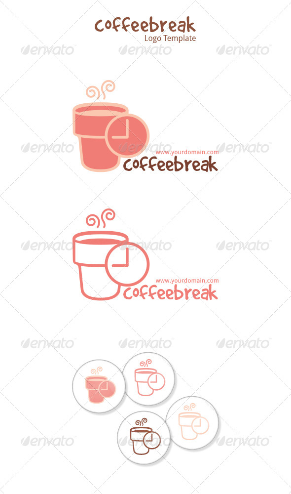 Coffee Break - Food Logo Templates