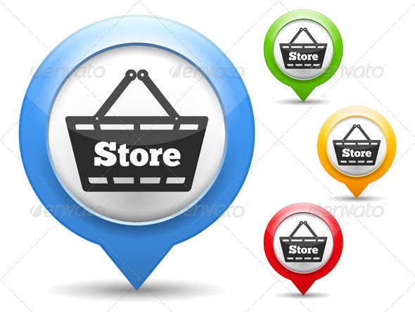 Store Icon - Commercial / Shopping Conceptual