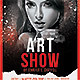 Art Show Flyer Template - GraphicRiver Item for Sale