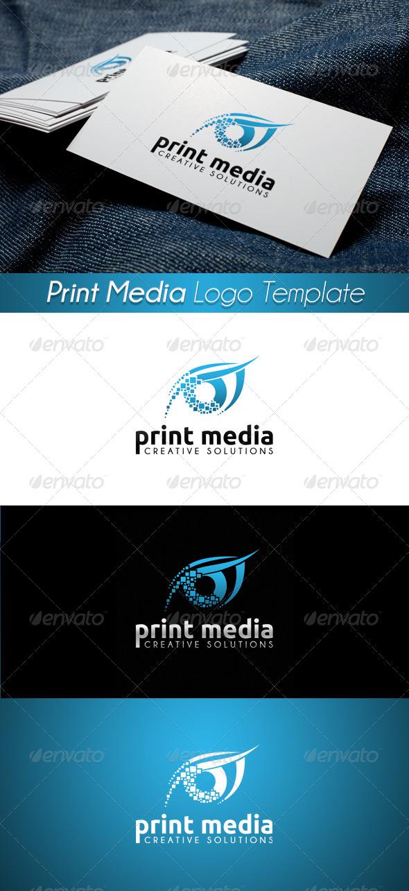 Print Media Logo 12 - Symbols Logo Templates