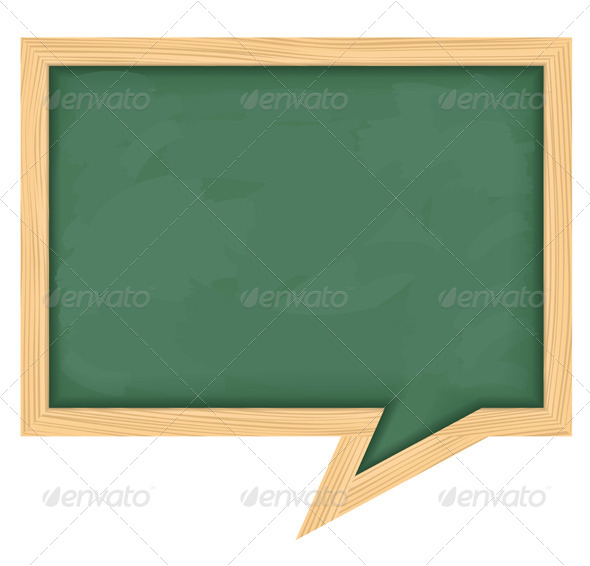 Chalkboard - Objects Vectors
