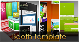 Booth template Collection on GraphicRiver