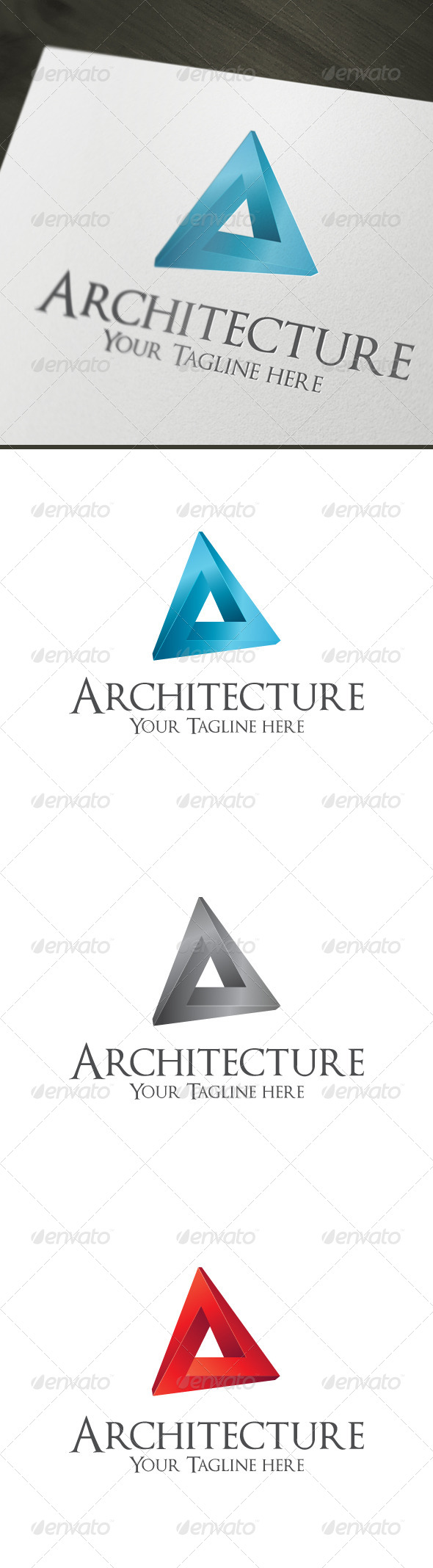 Architecture - Symbols Logo Templates