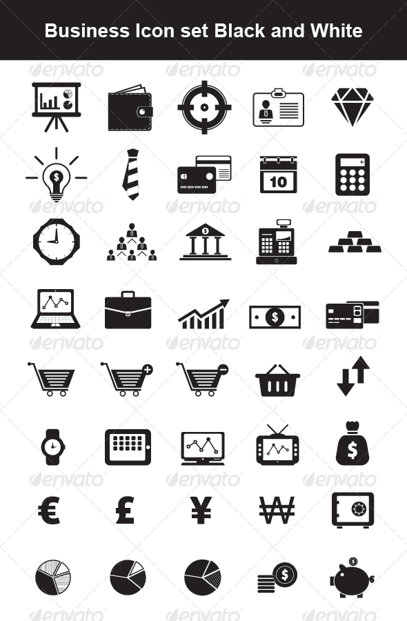 Business Icon set - Icons