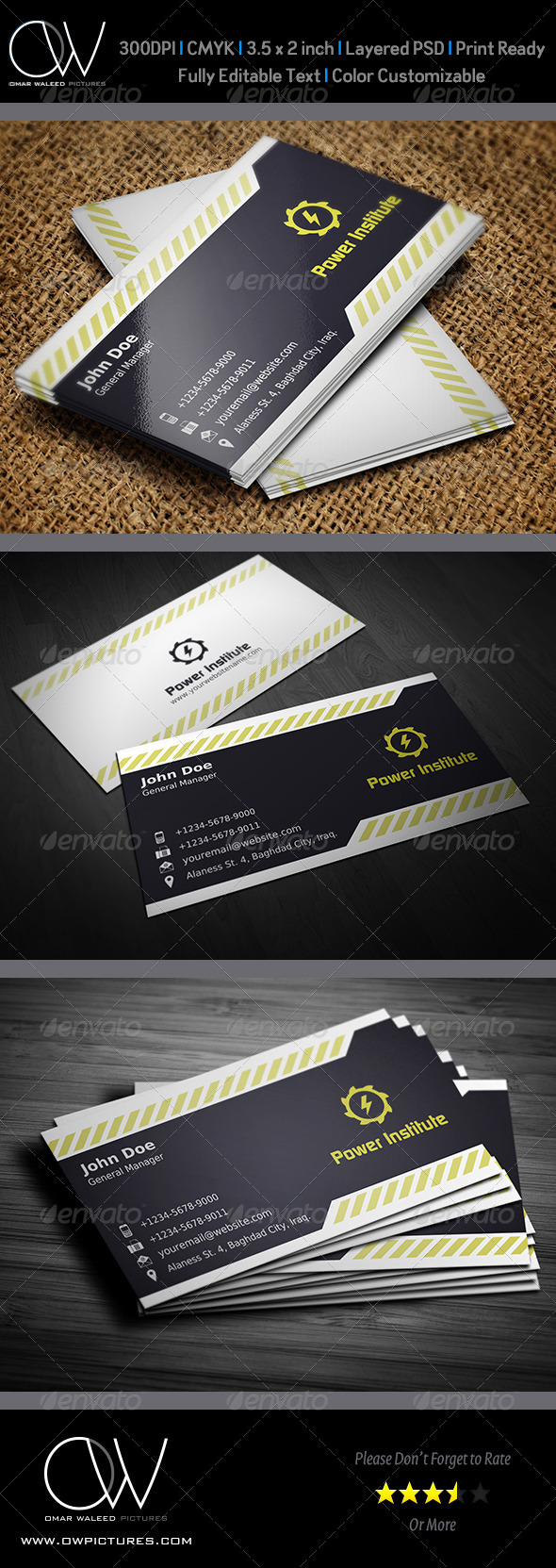 Corporate Business Card Vol.19 - Corporate Business Cards